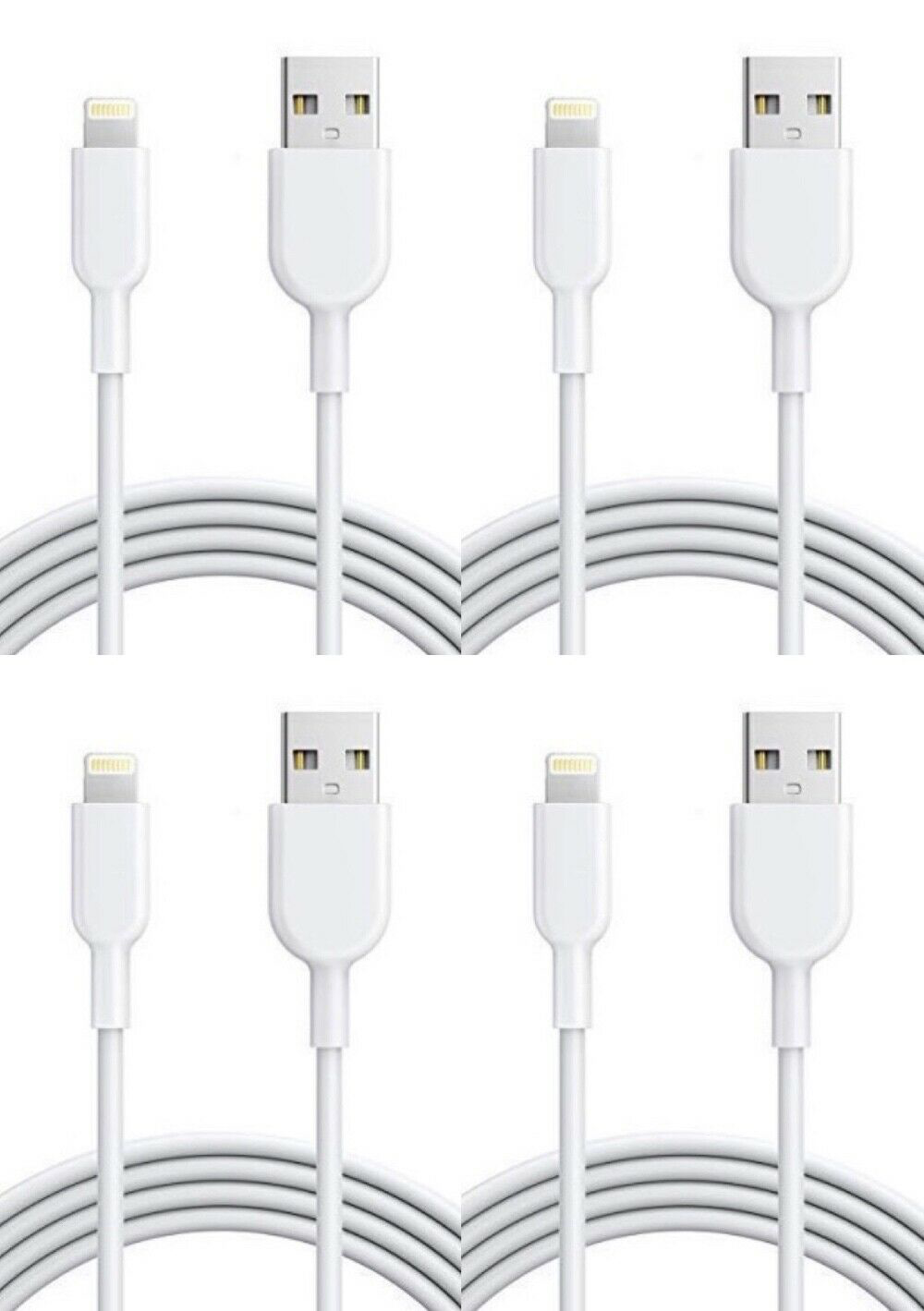 Compatible with Apple iPhone Xs//Xs Max//XR//X//8//8 Plus//7//7 Plus//6S//6S Plus//Air//Mini//iPod Touch//Case iPhone Lightning Cable Set Fast Charging /& Syncing Cord 5X 3FT USB Cable Infinite Power
