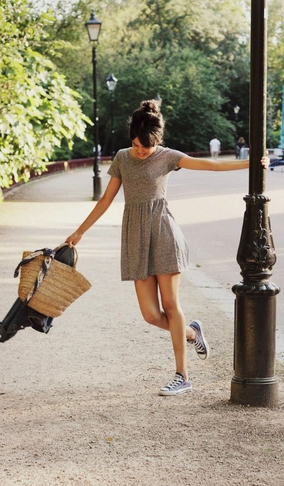 casual summer style #dress #casual #summer