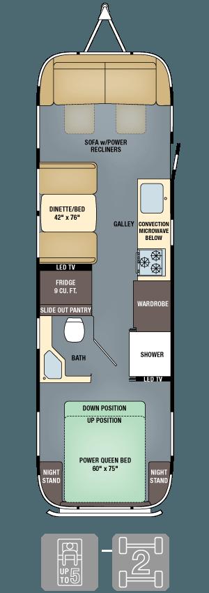 Floorplans Classic Travel Trailers Airstream Airstream Trailers Travel Trailer Floor Plans Travel Trailer
