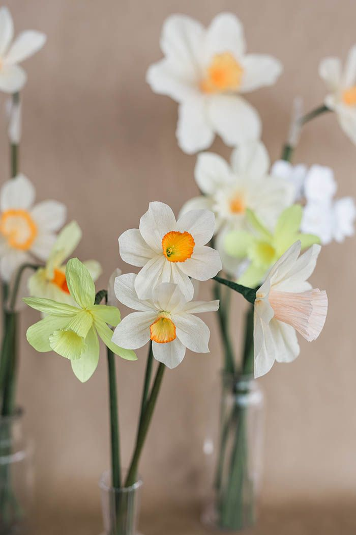 Paper Daffodil Tutorial | DIY Projects Inspiration | Pinterest ...