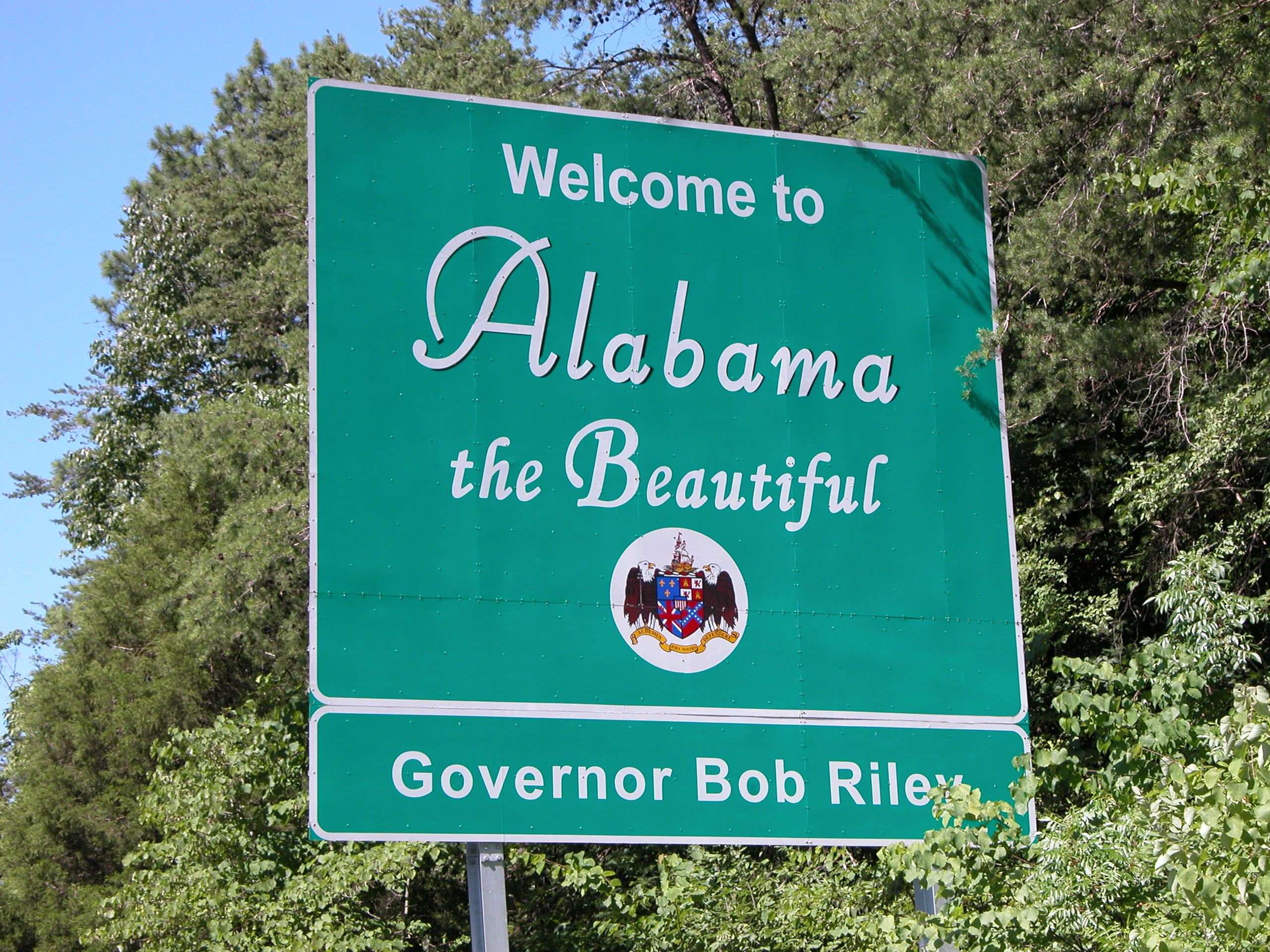 Sweet Home Alabama - I never get tired of going home!