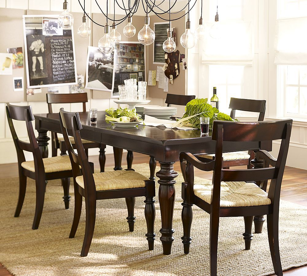 Edison Style Light Fixture And Beautiful Wood Dining Table Set Custom Small Dining Room Sets Ikea Design Inspiration