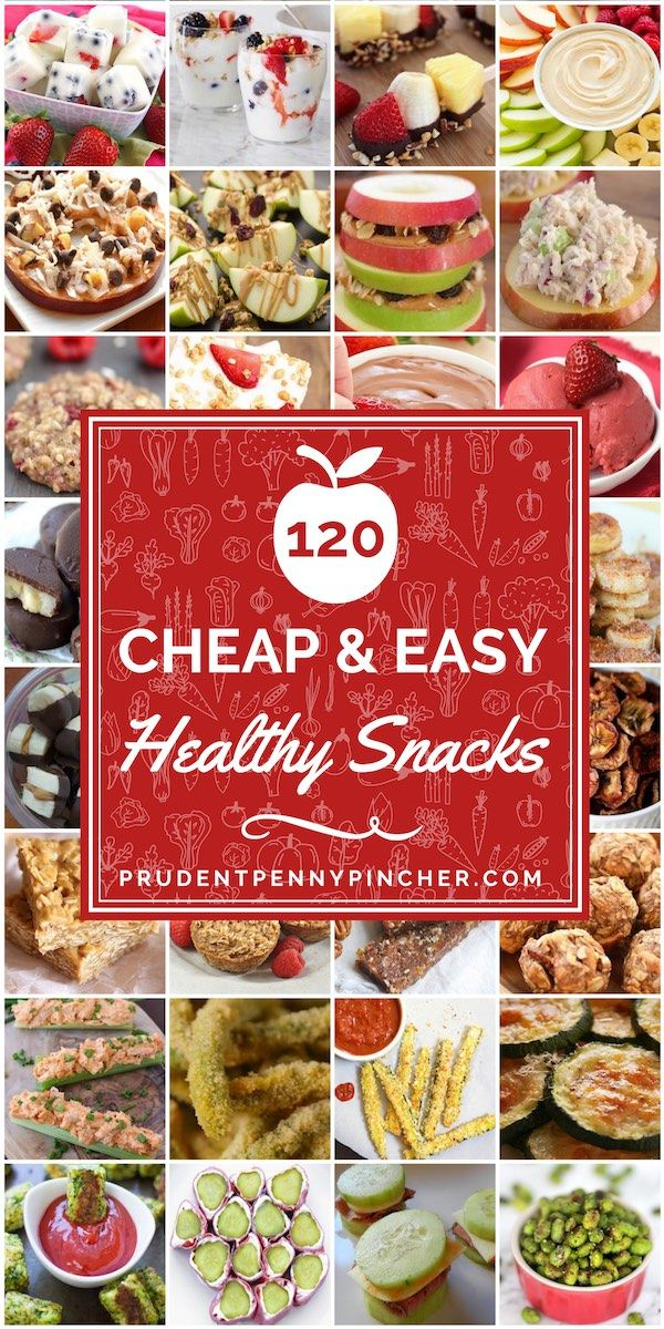 120 Cheap & Healthy Snacks images