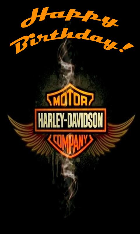 harley happy birthday images for men