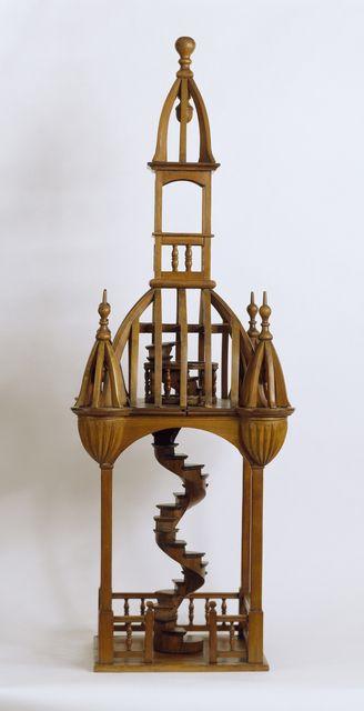 Bell Tower Model, ca. 1880. Cooper-Hewitt