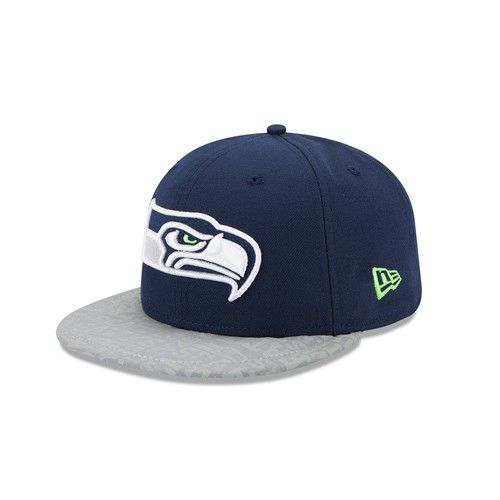 Seattle  Seahawks 2014 New Era® 59FIFTY® Draft Hat. Click to order ... 4c637abc7