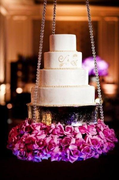 Suspended Wedding Cake Suspended Wedding Cake Hanging Cake Wedding Cake Table