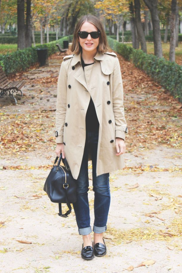 aa542585f398 fall outfit  Burberry trench coat