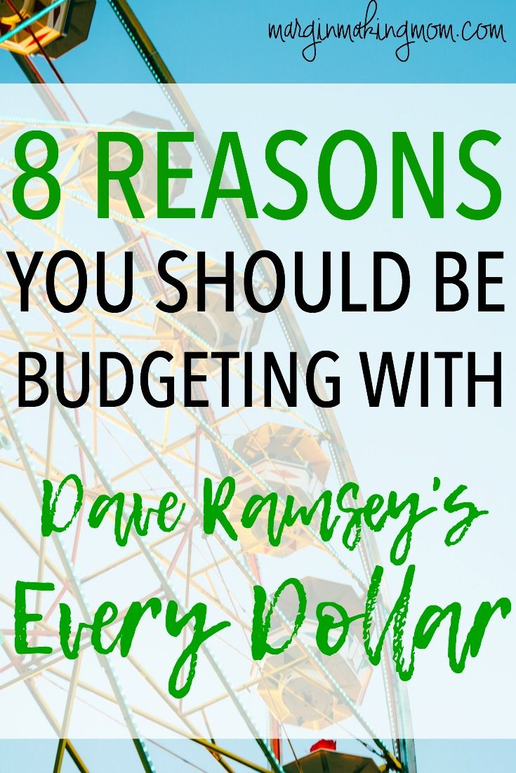 8 reasons you should be budgeting with every dollar budgeting