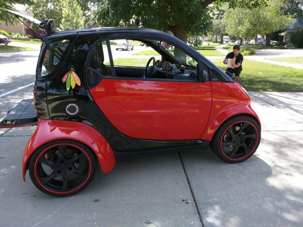 Smart Car With Hayabusa Engine >> Smart Fortwo Smartacus With A Hayabusa Inline Four Top