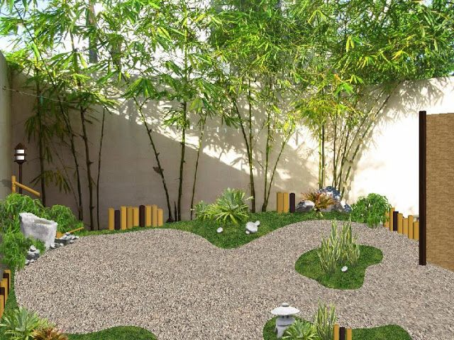 Dise o jardin peque o estilo japones patio ideas for Jardin estilo japones