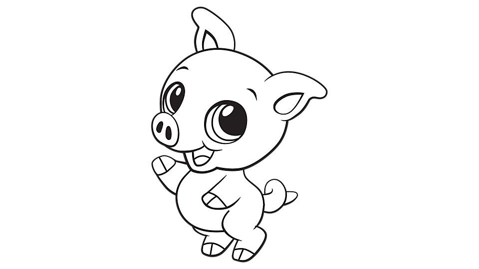 Print Our Adorable Baby Piglet Coloring Page Baby Pigs Cute Baby Animals Cute Piglets
