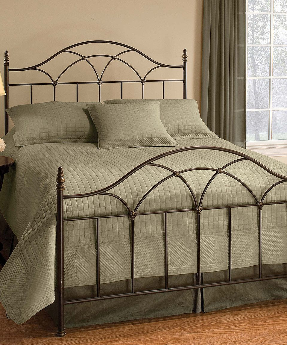Loving this Aria Rail Bed Set on #zulily! #zulilyfinds | cabeceras ...
