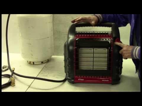 Mr Heater Big Buddy With 20 Lb Propane Tank Review Youtube Propane Heater 20 Lb Propane Tank