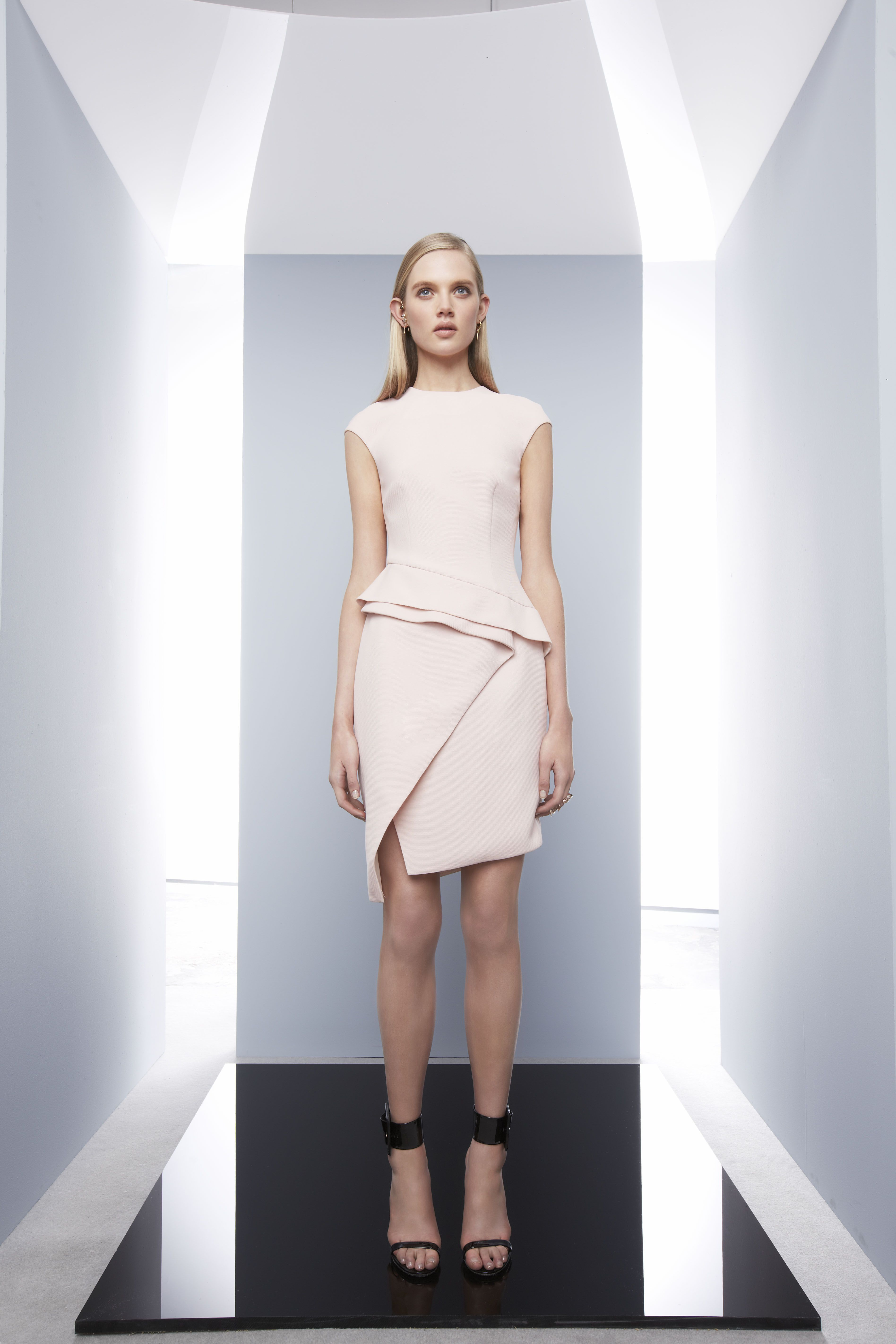 Composite Dress by CAMILLA AND MARC http://www.camillaandmarc.com/composite-dress-nude.html