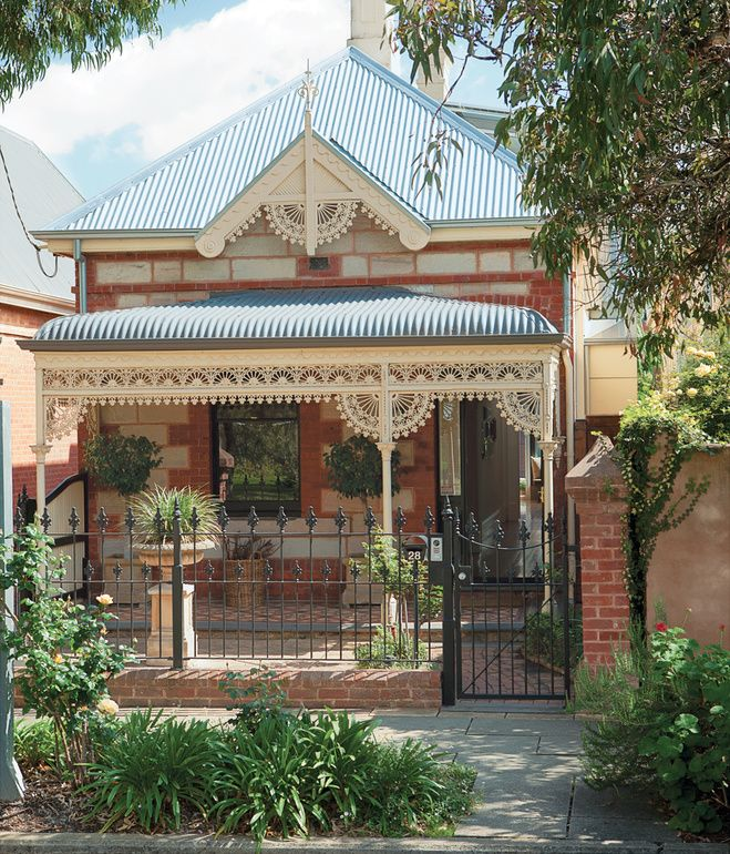 Una casa tradicional y contemporánea en Australia Fachadas - fachadas originales