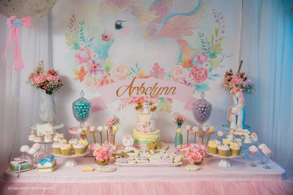 Unicorn Birthday Party Ideas Unicorn themed birthday