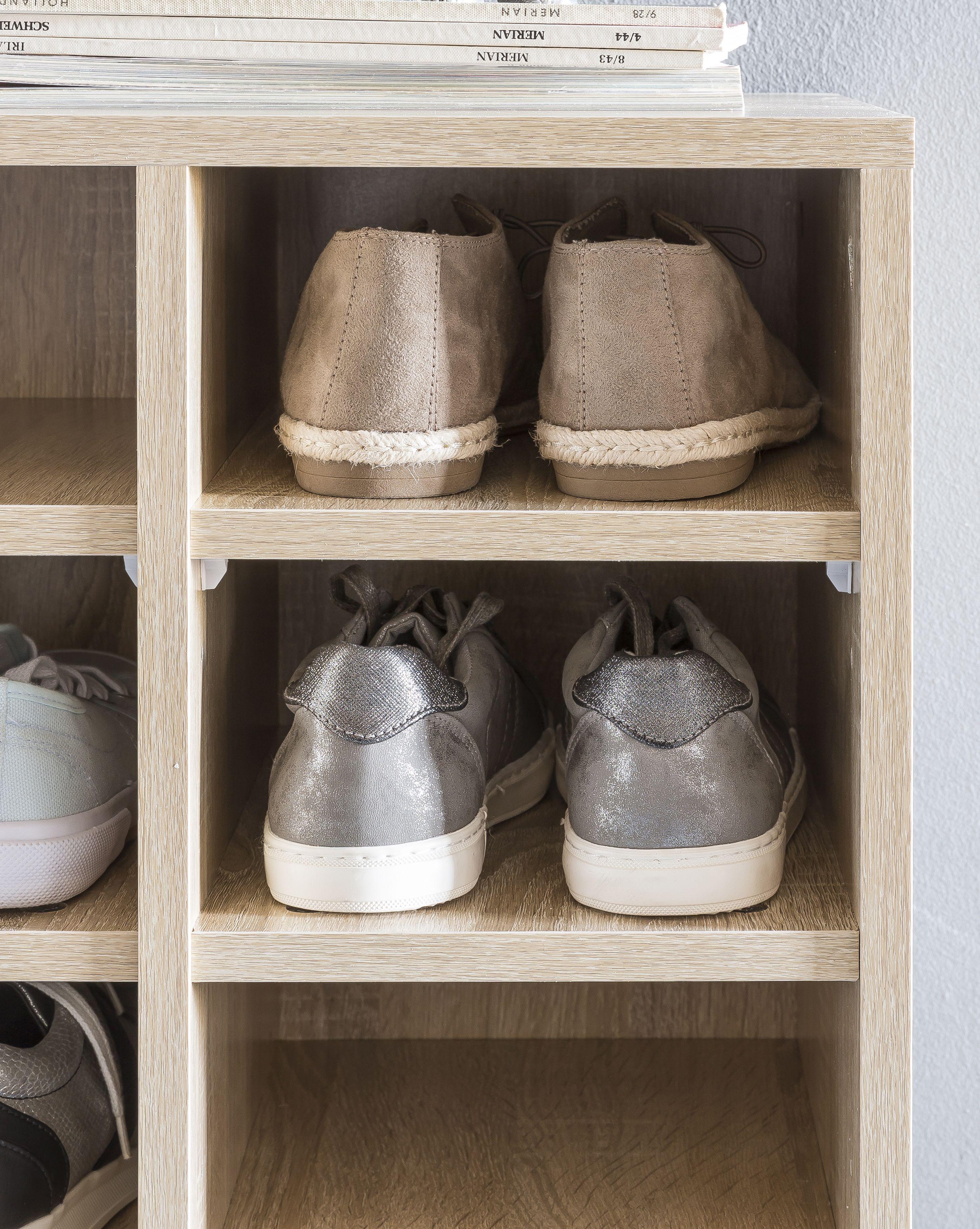 Wohnling Schuhschrank Diego Sonoma Wl5 258 Aus Spanplatte Schuhe