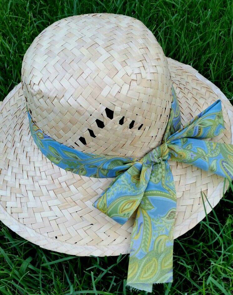 Details-cappello di paglia
