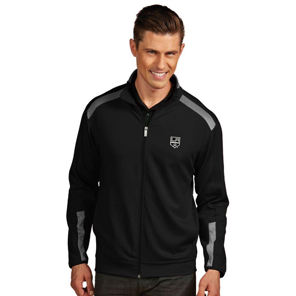 Los Angeles Kings NHL Flight Mens Jacket Black/Steel