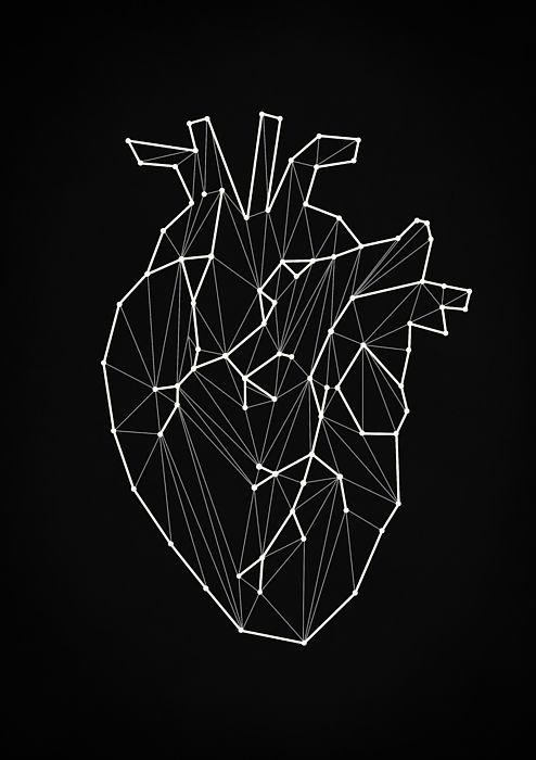 Geometric Heart by Zapista OU