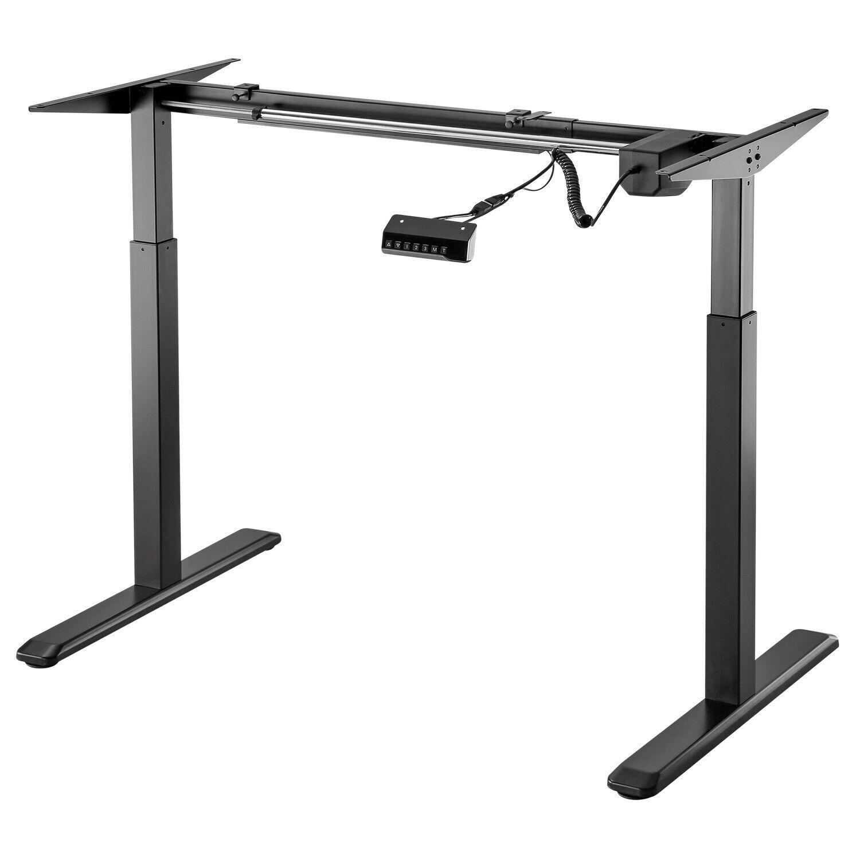 Elektrisch Hohenverstellbar Exeta Ergoeasy Schreibtisch Gestell Homeoffice Black Ebay Arbeitstisch Tischgestell Schreibtisch