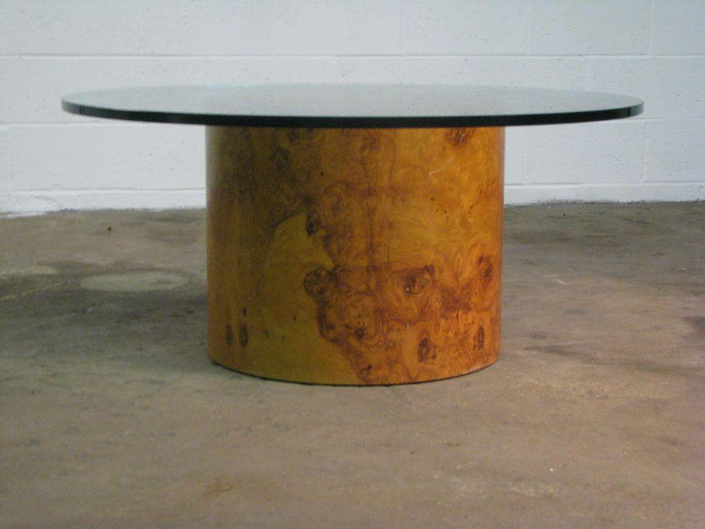 Park Art|My WordPress Blog_Milo Baughman Drum Coffee Table