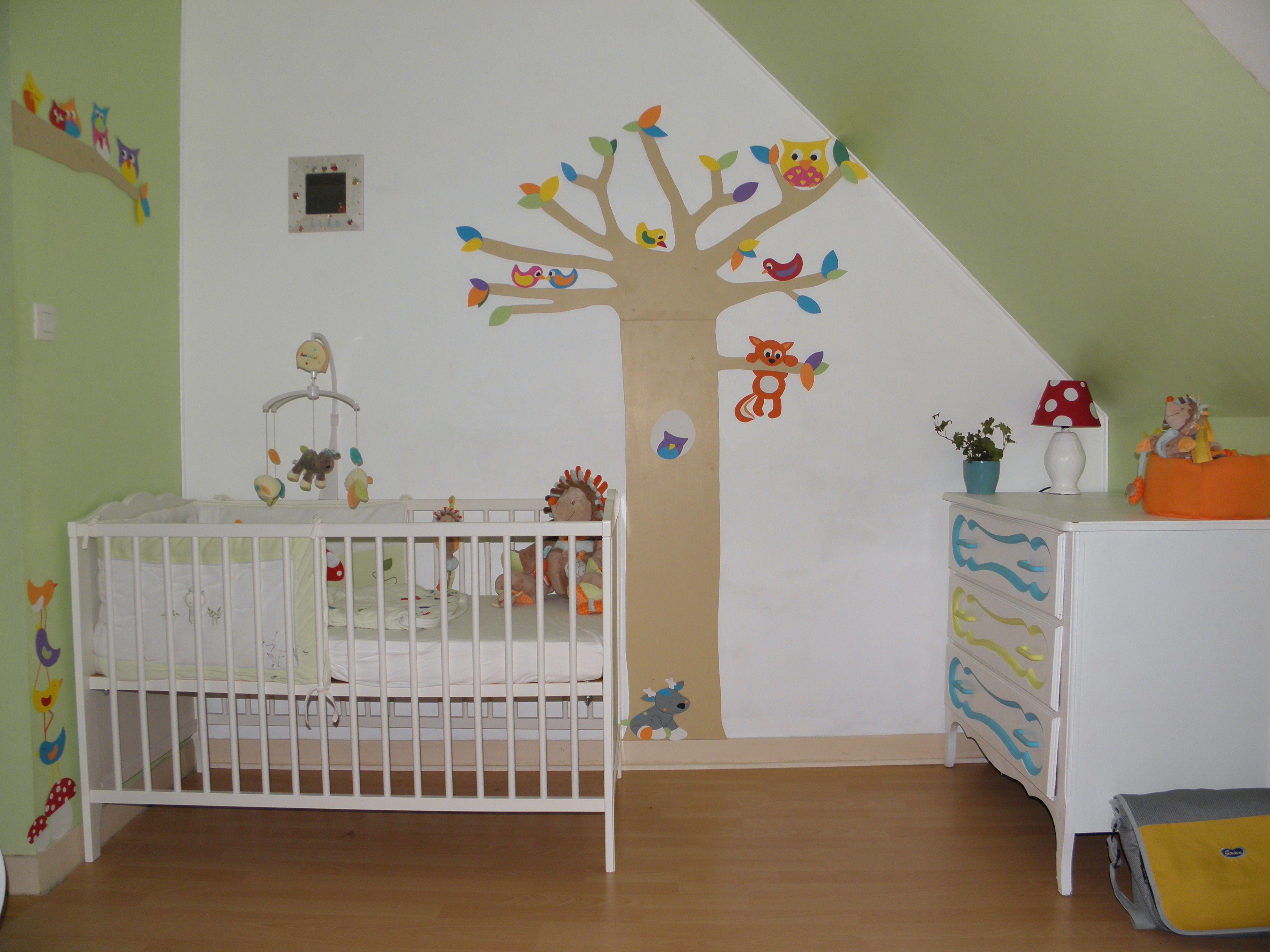d co chambre b b th me for t chambre d 39 enfants pinterest d co chambre b b deco chambre. Black Bedroom Furniture Sets. Home Design Ideas