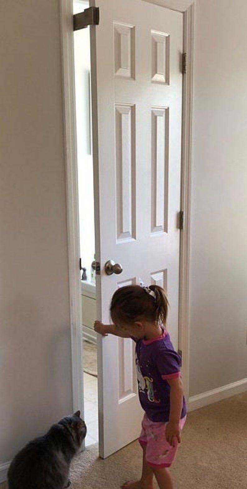 Thedoorlatch Cat Door Latch Holds Door Open Cat Latch Etsy In 2020 Hold Door Open Door Latch Prop Door Open