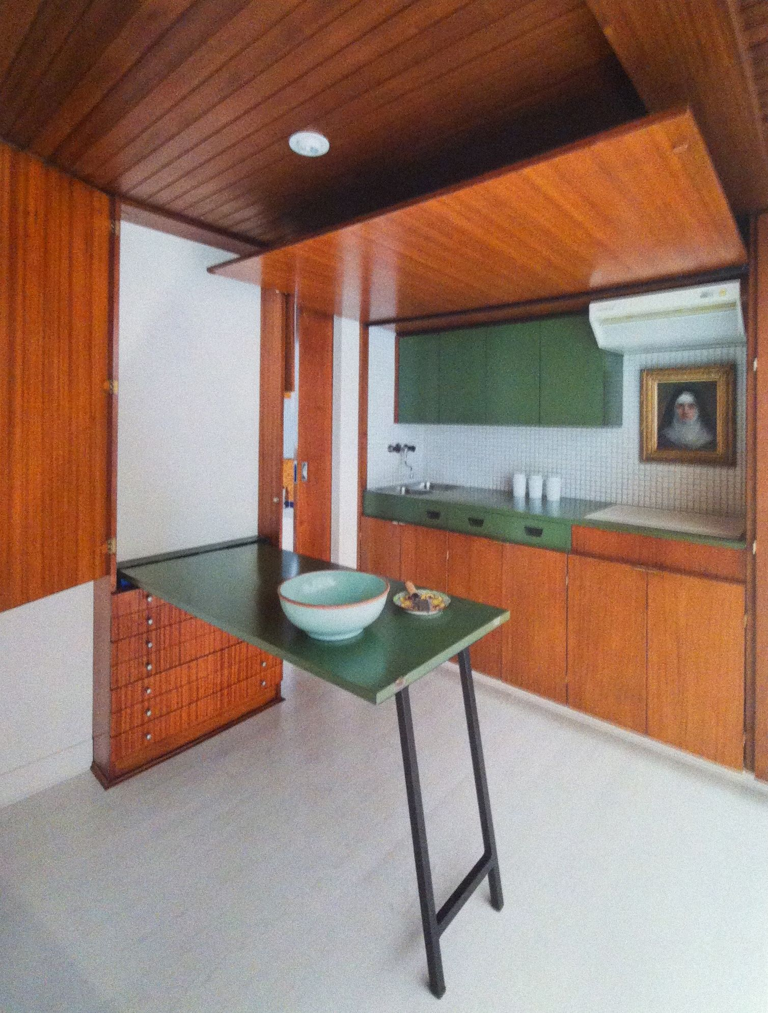 Fold out small space kitchen compact small space kitchen