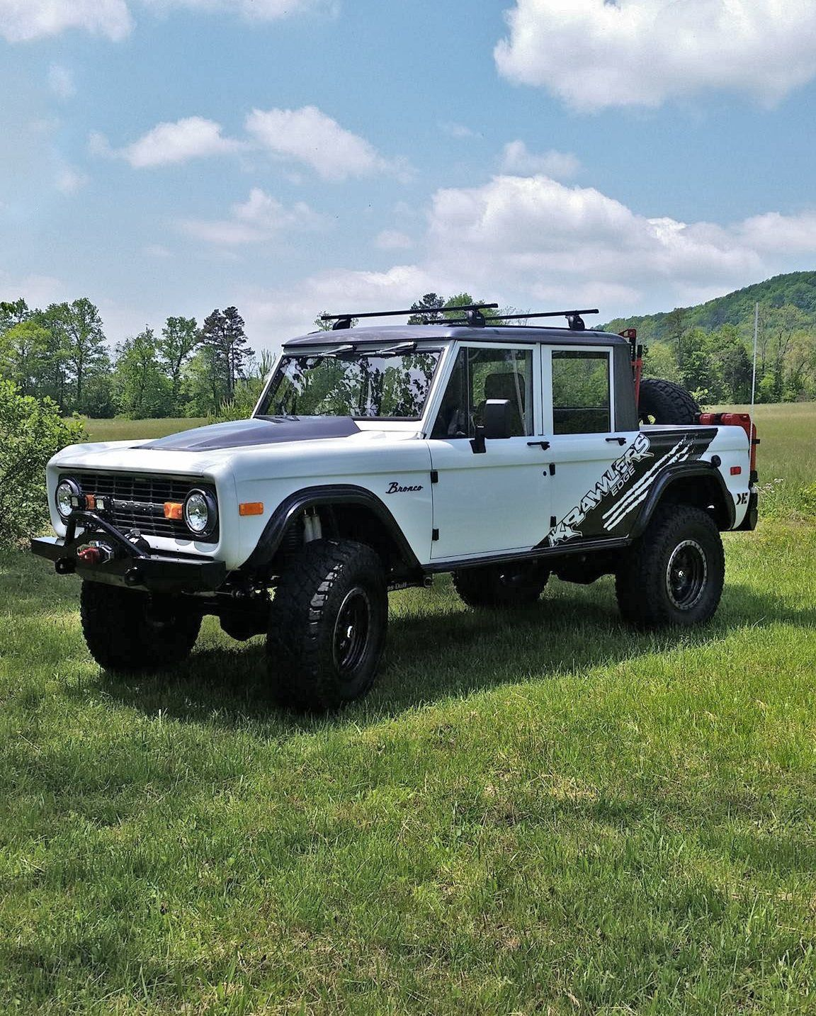 Four Door Bronco By Krawlers Edge Ford Bronco Classic Bronco