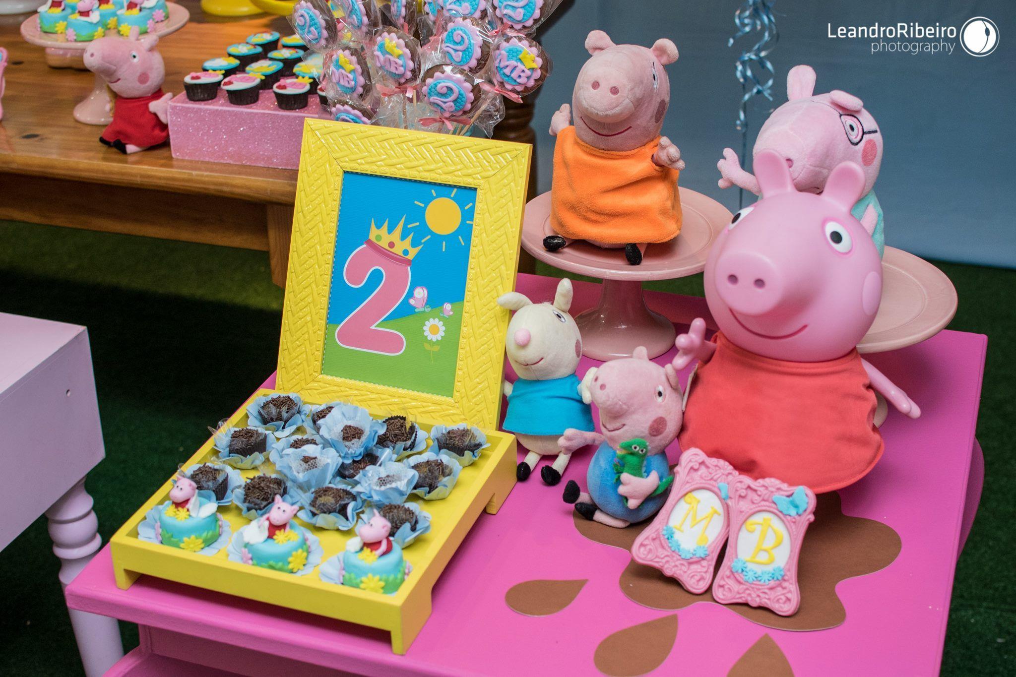 Decoração Festa Infantil - PEPPA PIG - festa da peppa - fotógrafo infantil