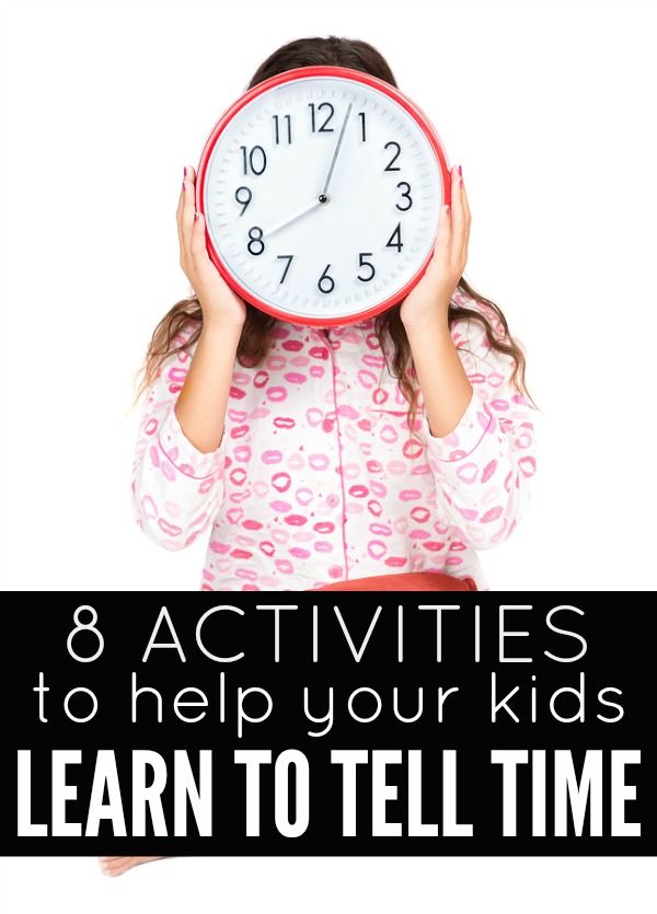 Learning to tell time: 8 activities & games we love   Schreibschrift ...