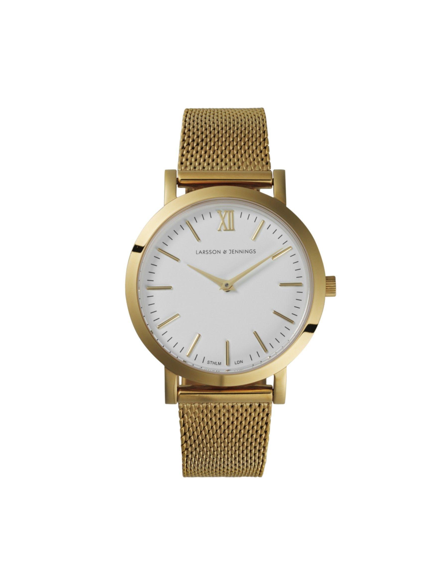 Larsson & Jennings Liten Gold Bracelet Watch