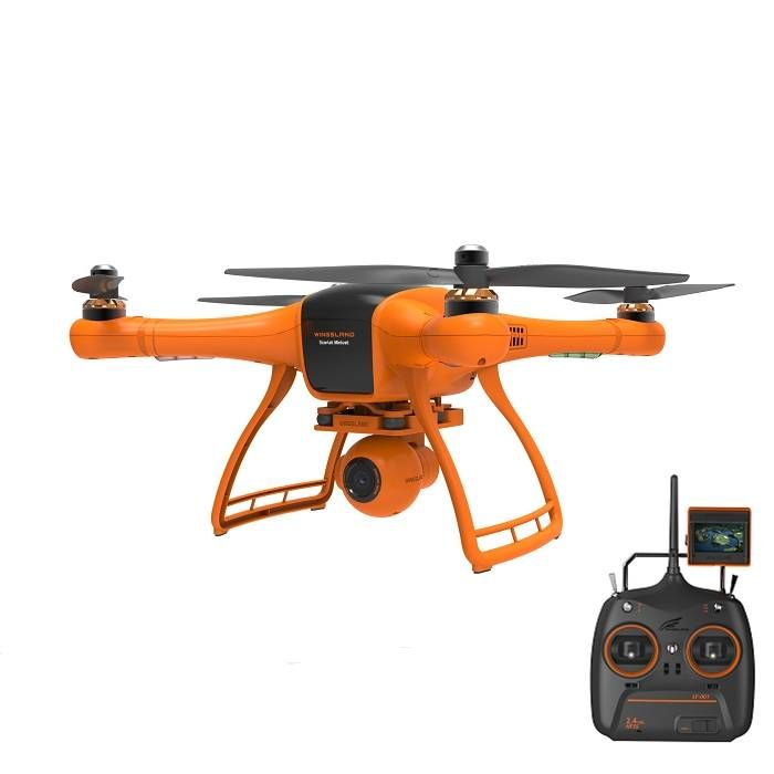 USA Direct   Wingsland Scarlet Minivet 5.8G FPV With HD Camera RC Quadcopter