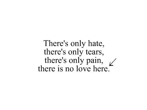 No Love Simple Plan Relationship Quotes Hard Words Quotes