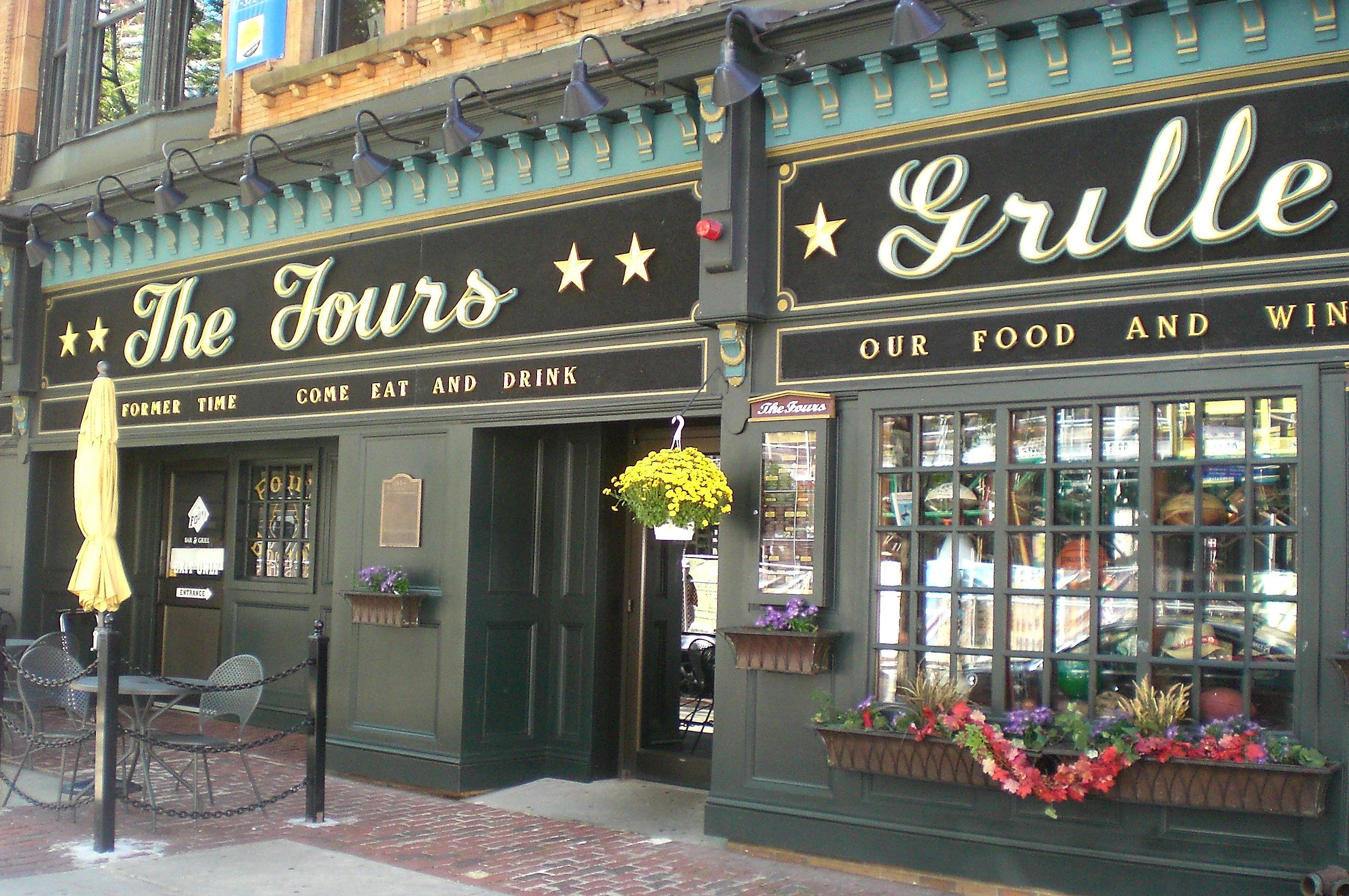 The Fours, Boston Menu, Prices & Restaurant Reviews