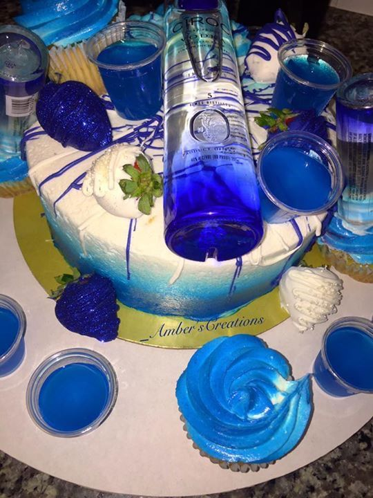 Blueberry Ciroc Cake Food Amp Drink In 2019 21st