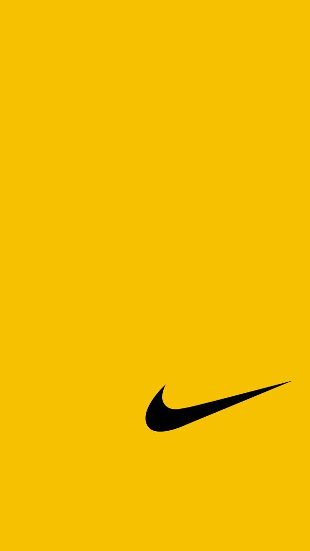 Nike Yellow Fur Iphone 5 Hintergrundbilder Nike Wallpaper Backgrounds Nike Wallpaper Nike Logo Wallpapers
