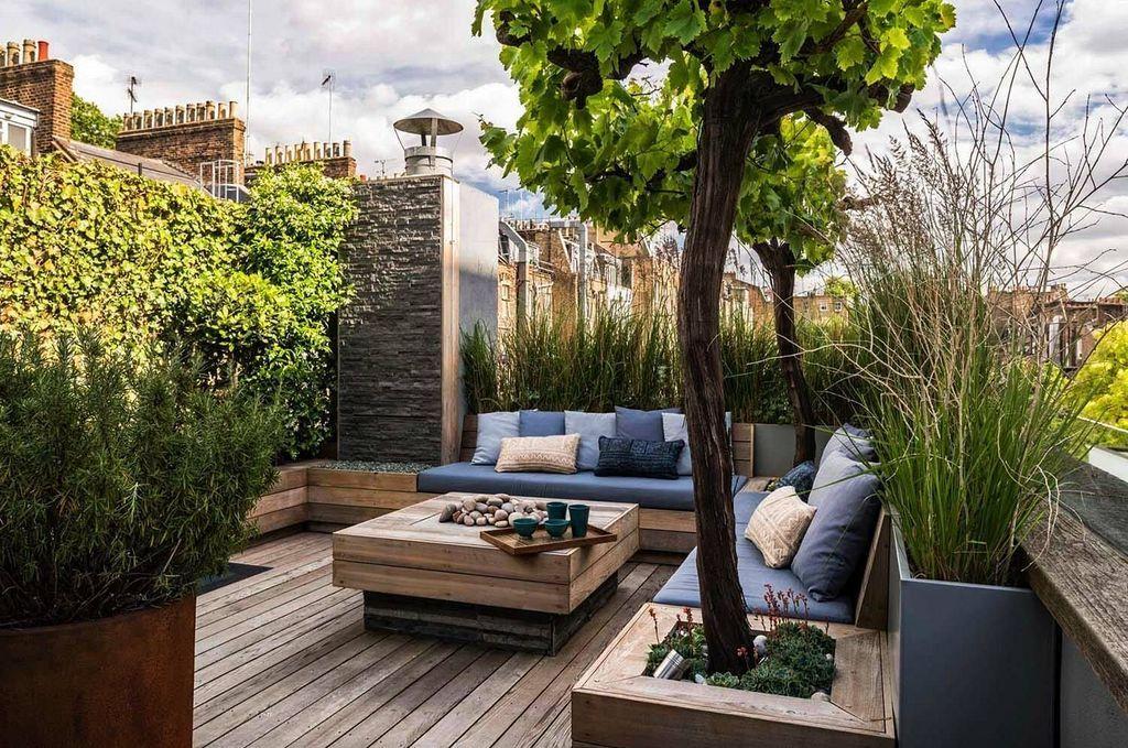 20 Minimalist Modern Rooftop Gardening Design And Ideas Roof Garden Design Rooftop Terrace Design Rooftop Design