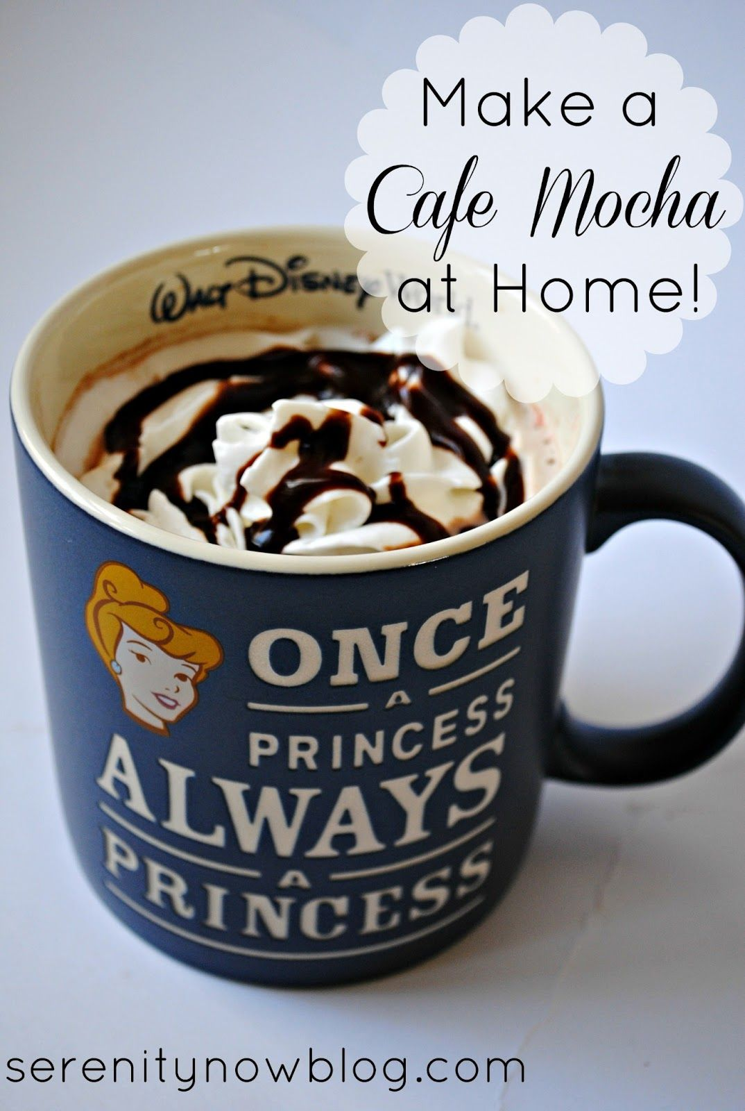 How to Make a Cafe Mocha at Home (pantry ingredients) from
