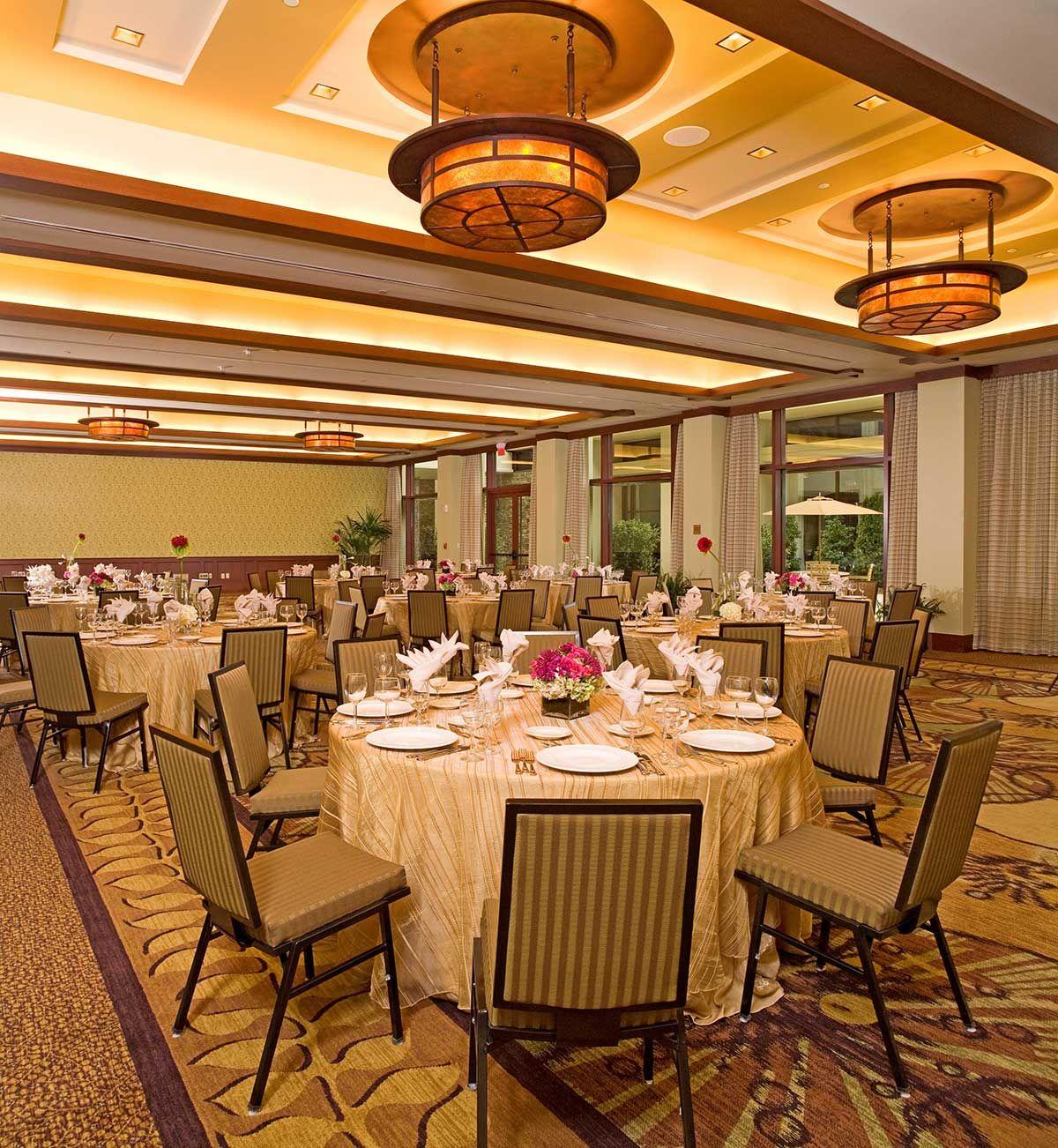 Ceremony And Reception In Same Room: Starvine Ballroom - Ceremony Room