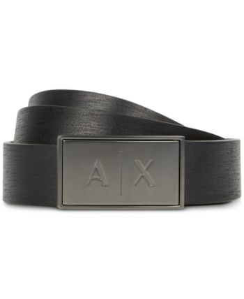 18ac8b3c Armani Exchange Mens Logo Buckle Belt in 2019 | Products | Belt ...