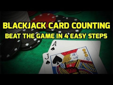 Blackjack Card Counting Beat The Game In 4 Easy Steps Counting Cards Blackjack Card Tricks