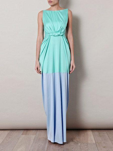 Roksanda Ilincic Emmanuelle Silk Dress