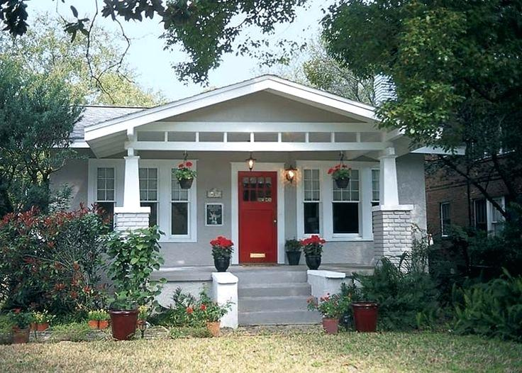 White House Gray Trim House White Trim Red Door Doors Color Grey Houses Gray Gray House Wh Exterior House Colors Red Door House Exterior Paint Colors For House