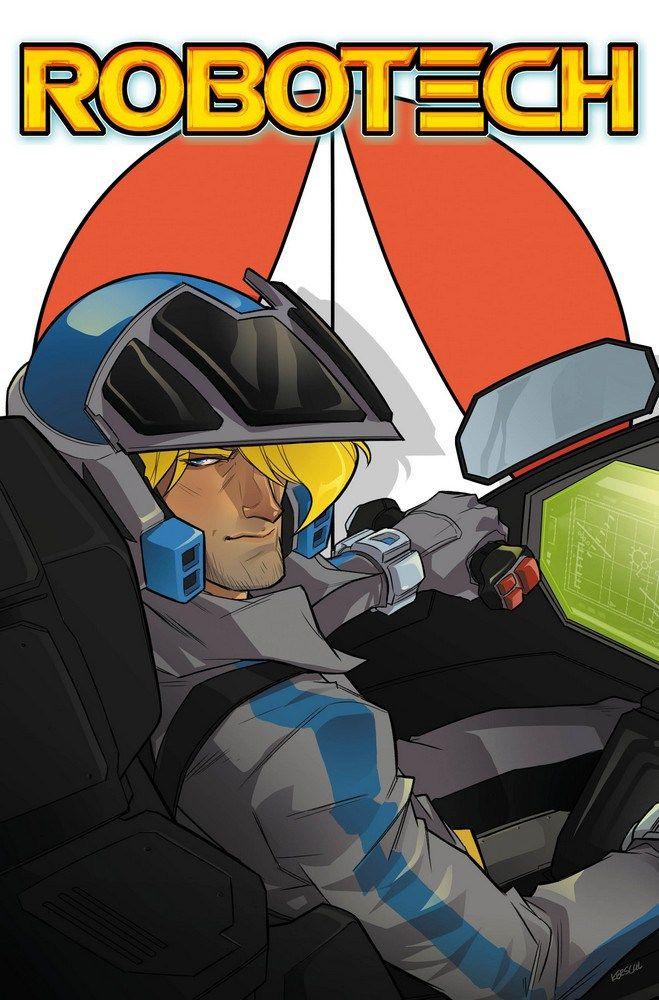 Titan Comics Reveals Robotech Karl Kerschl Variant Covers