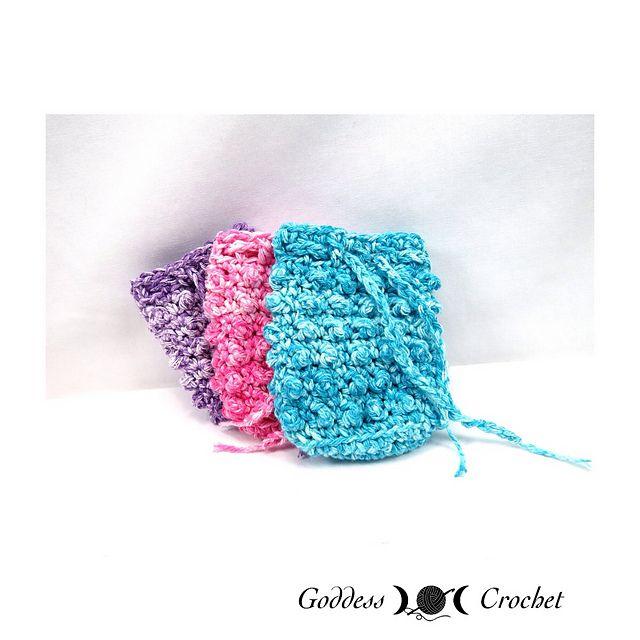 Ravelry: Textured Soap Saver pattern by Goddess Crochet ...