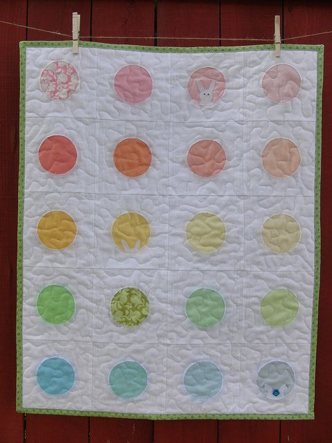 Whack-a-Bunny Quilt by theplaidscottie, via Flickr