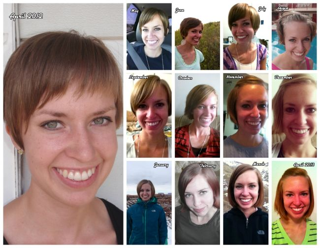 Pixie Cut Grow Out Stages